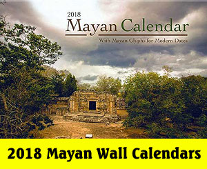 A PRIMER OF MAYAN ASTROLOGY by Kenneth Johnson